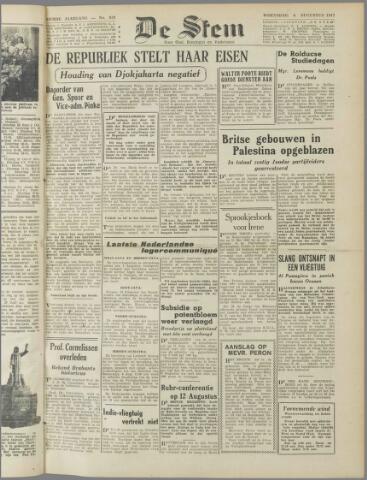 de Stem 1947-08-06