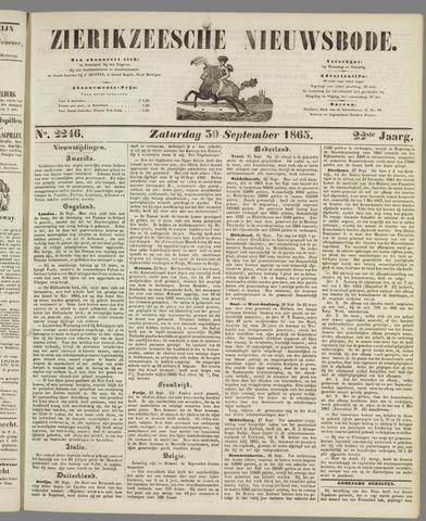 Zierikzeesche Nieuwsbode 1865-09-30