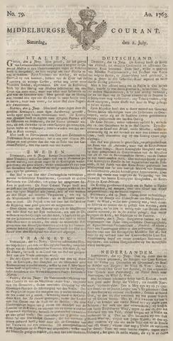 Middelburgsche Courant 1763-07-02