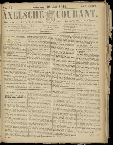 Axelsche Courant 1921-07-30