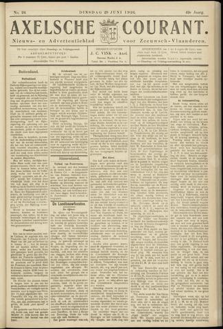 Axelsche Courant 1926-06-29