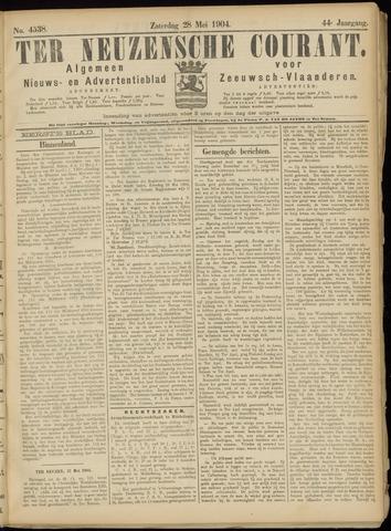 Ter Neuzensche Courant. Algemeen Nieuws- en Advertentieblad voor Zeeuwsch-Vlaanderen / Neuzensche Courant ... (idem) / (Algemeen) nieuws en advertentieblad voor Zeeuwsch-Vlaanderen 1904-05-28
