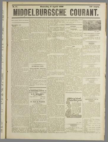 Middelburgsche Courant 1925-04-06