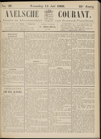 Axelsche Courant 1909-07-14