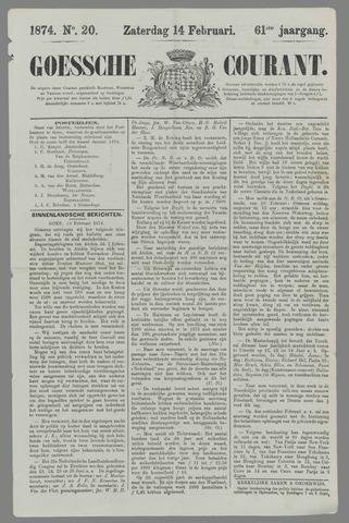 Goessche Courant 1874-02-14