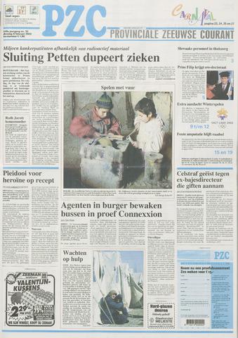 Provinciale Zeeuwse Courant 2002-02-05