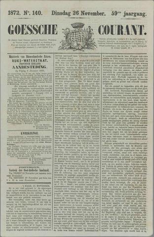 Goessche Courant 1872-11-26