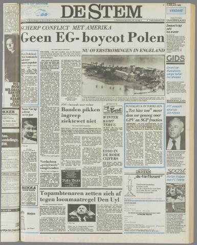de Stem 1982-01-05