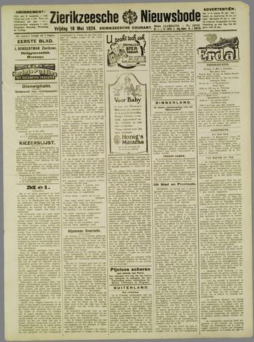Zierikzeesche Nieuwsbode 1924-05-16