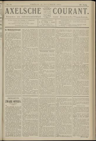 Axelsche Courant 1924-11-14