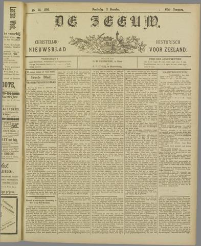 De Zeeuw. Christelijk-historisch nieuwsblad voor Zeeland 1896-12-03