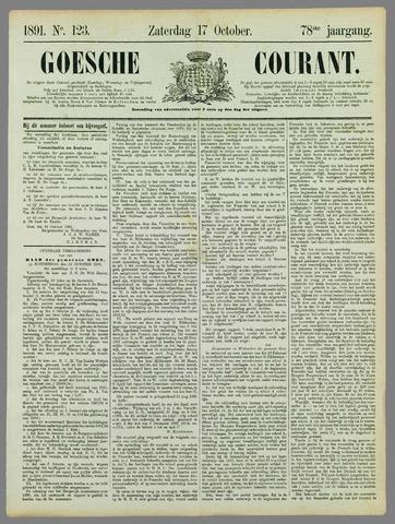 Goessche Courant 1891-10-17