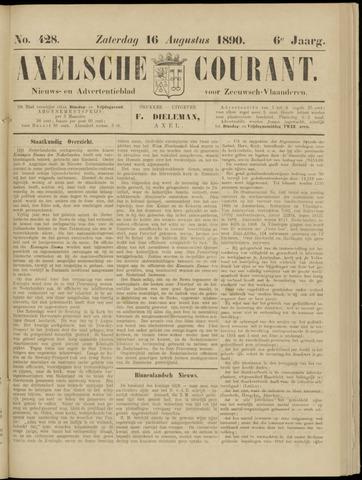 Axelsche Courant 1890-08-16