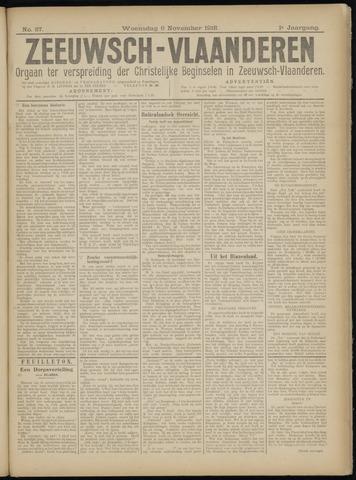 Luctor et Emergo. Antirevolutionair nieuws- en advertentieblad voor Zeeland / Zeeuwsch-Vlaanderen. Orgaan ter verspreiding van de christelijke beginselen in Zeeuwsch-Vlaanderen 1918-11-06
