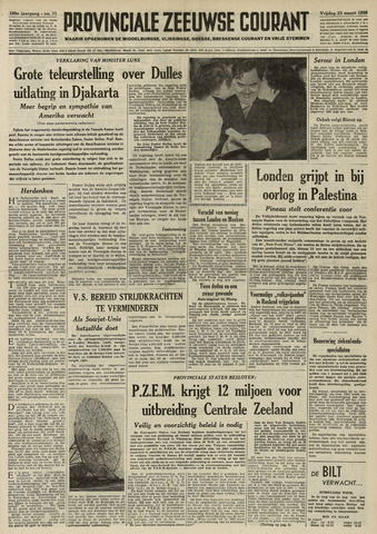 Provinciale Zeeuwse Courant 1956-03-23