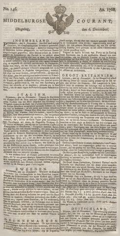 Middelburgsche Courant 1768-12-06