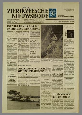 Zierikzeesche Nieuwsbode 1974-07-04