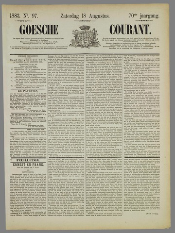 Goessche Courant 1883-08-18