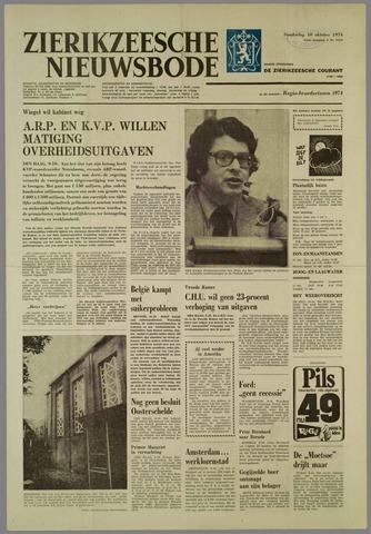 Zierikzeesche Nieuwsbode 1974-10-10