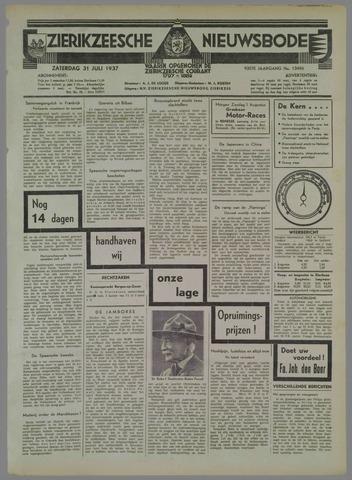 Zierikzeesche Nieuwsbode 1937-07-31