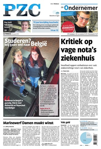 Provinciale Zeeuwse Courant 2015-01-24