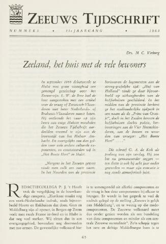 Zeeuws Tijdschrift 1963-05-01