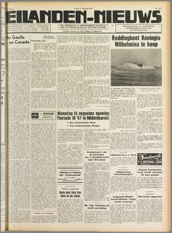 Eilanden-nieuws. Christelijk streekblad op gereformeerde grondslag 1967-08-11