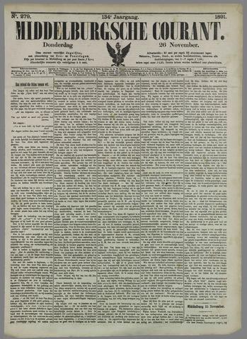 Middelburgsche Courant 1891-11-26