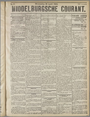 Middelburgsche Courant 1922-04-12