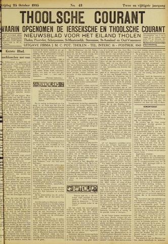 Ierseksche en Thoolsche Courant 1935-10-25