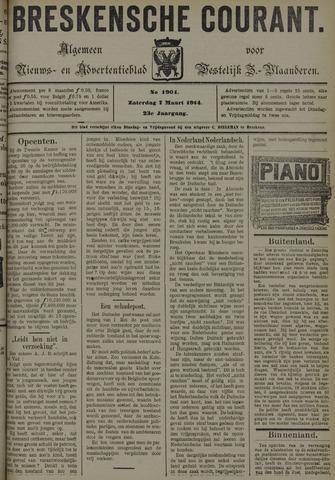 Breskensche Courant 1914-03-07