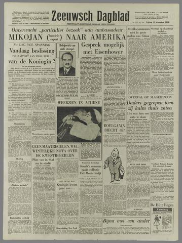 Zeeuwsch Dagblad 1958-12-19