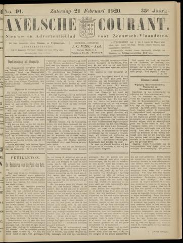 Axelsche Courant 1920-02-21