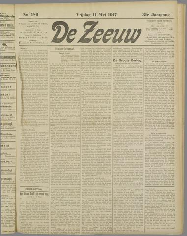 De Zeeuw. Christelijk-historisch nieuwsblad voor Zeeland 1917-05-11