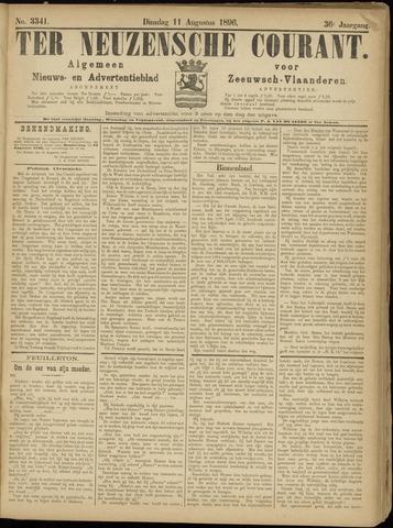 Ter Neuzensche Courant. Algemeen Nieuws- en Advertentieblad voor Zeeuwsch-Vlaanderen / Neuzensche Courant ... (idem) / (Algemeen) nieuws en advertentieblad voor Zeeuwsch-Vlaanderen 1896-08-11