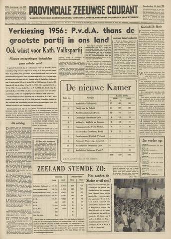 Provinciale Zeeuwse Courant 1956-06-14