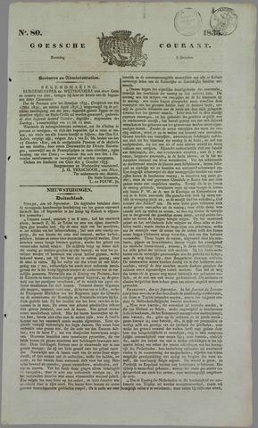 Goessche Courant 1835-10-05