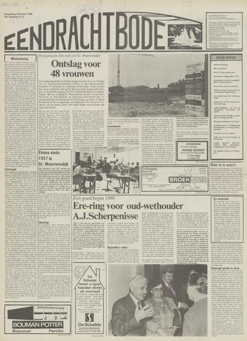 Eendrachtbode (1945-heden)/Mededeelingenblad voor het eiland Tholen (1944/45) 1980