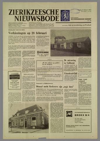 Zierikzeesche Nieuwsbode 1974-02-08