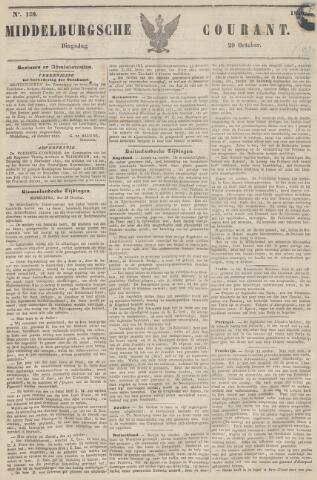 Middelburgsche Courant 1850-10-29