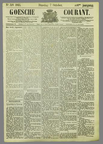 Goessche Courant 1913-10-07