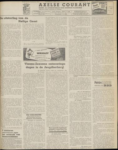 Axelsche Courant 1954-06-05