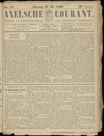 Axelsche Courant 1922-05-16