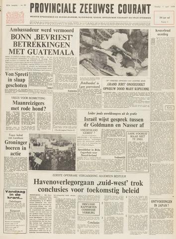 Provinciale Zeeuwse Courant 1970-04-07