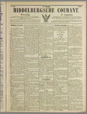 Middelburgsche Courant 1906-08-15