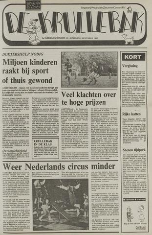 Provinciale Zeeuwse Courant katern Krullenbak (1981-1999) 1982-11-09