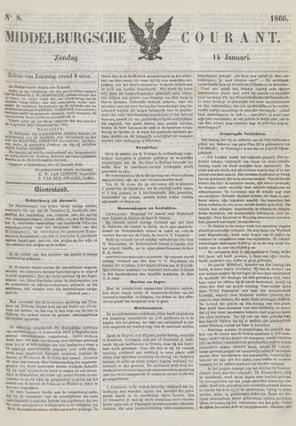 Middelburgsche Courant 1866-01-14