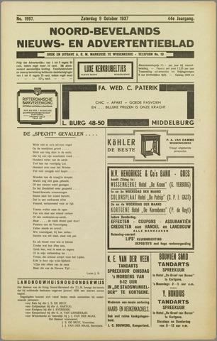 Noord-Bevelands Nieuws- en advertentieblad 1937-10-09