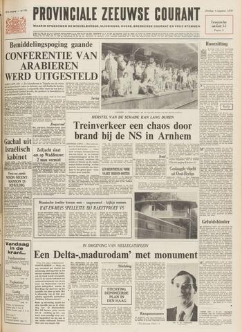 Provinciale Zeeuwse Courant 1970-08-04