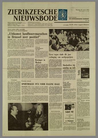Zierikzeesche Nieuwsbode 1974-03-25